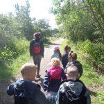Class 1 & 2 visit Low Barns Nature Reserve